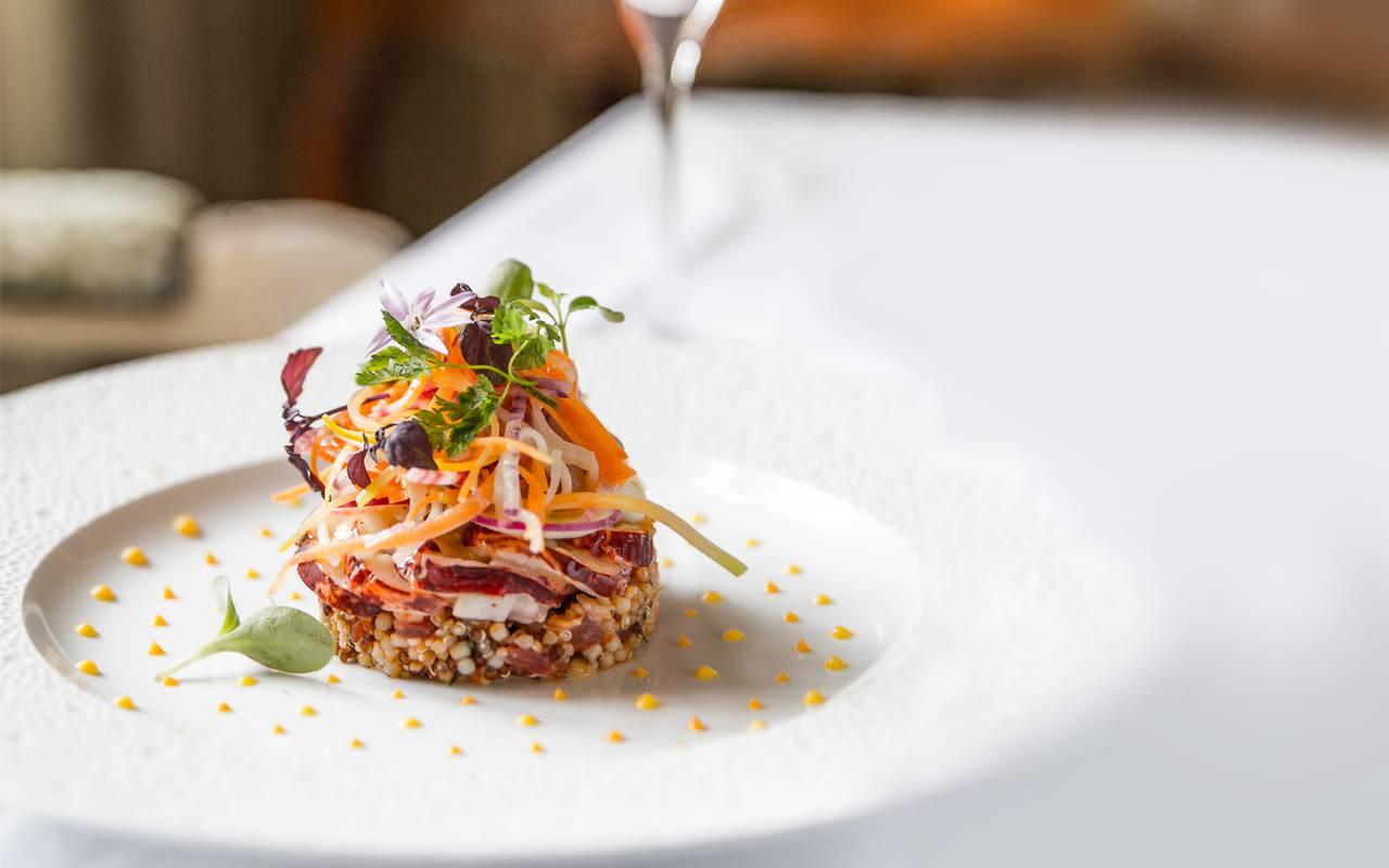 Dish in restaurant - restaurant sarlat