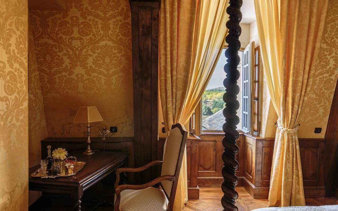 View of Scribe room - Luxury hotel Rocamadour