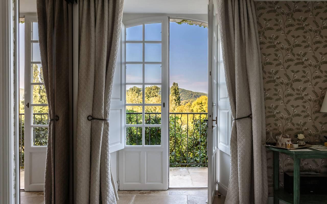 Balcony in dordogne room - hotel sarlat