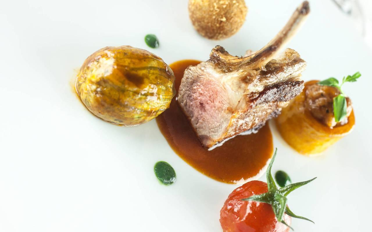 Starred Restaurant Dordogne Lamb Château de la Treyne