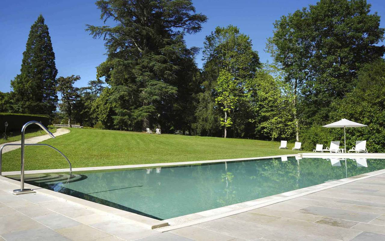 Swimming pool - Chateau de la treyne