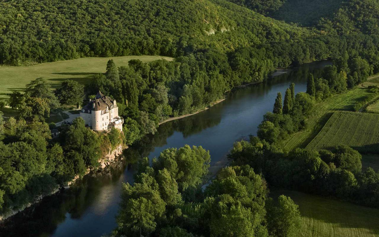 Dordogne valley view - Hotel Dordogne