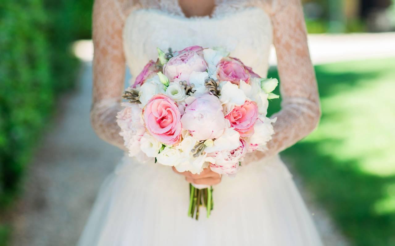 Wedding flowers bouquet - hotel sarlat