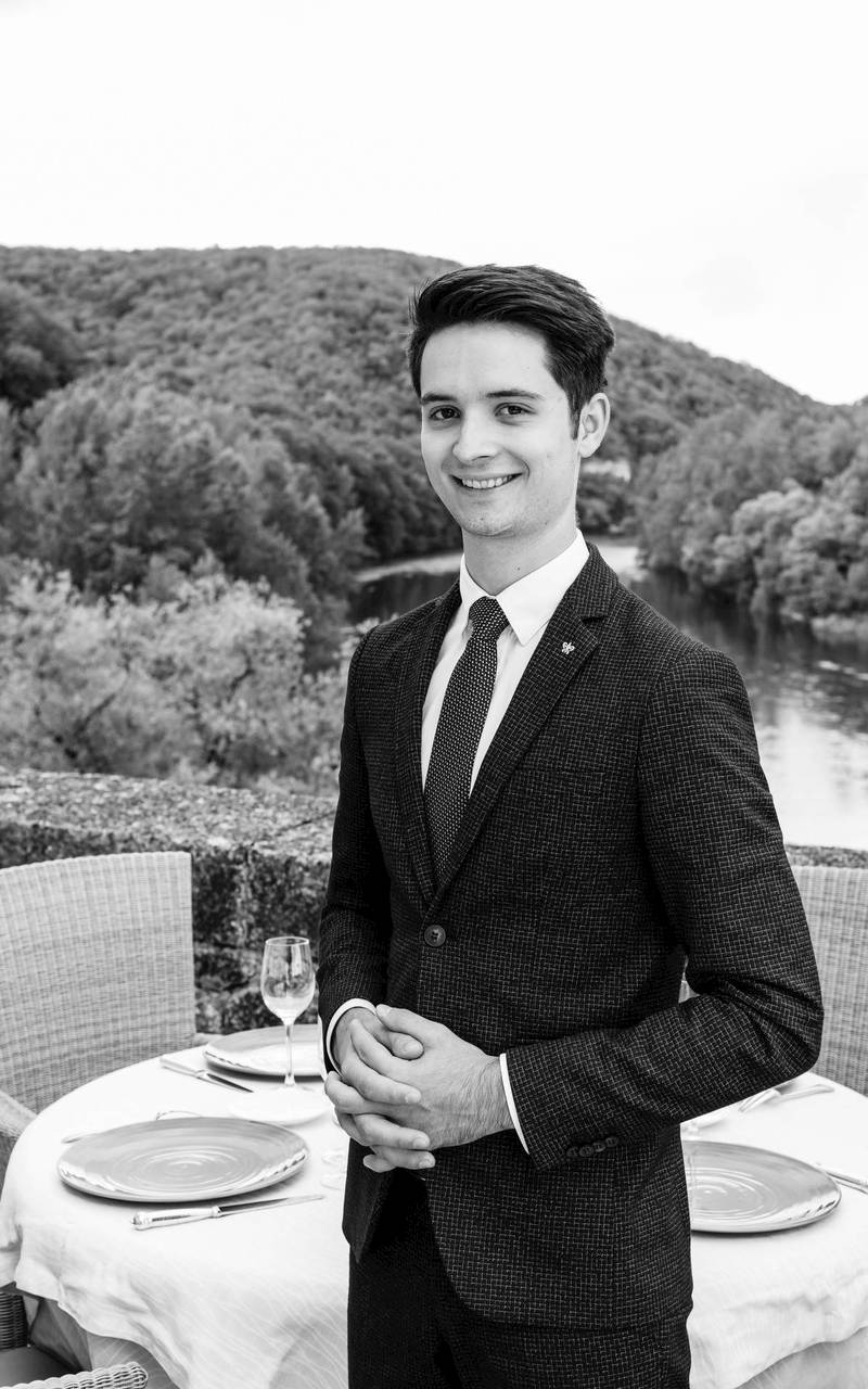 Head Waiter Hotel Rocamadour