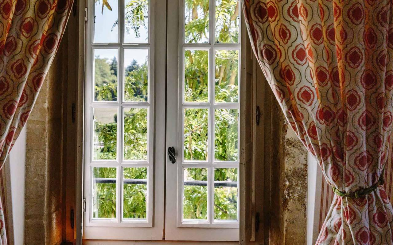 Vue de la chambre Fenelon - Hôtel 4 étoiles Dordogne