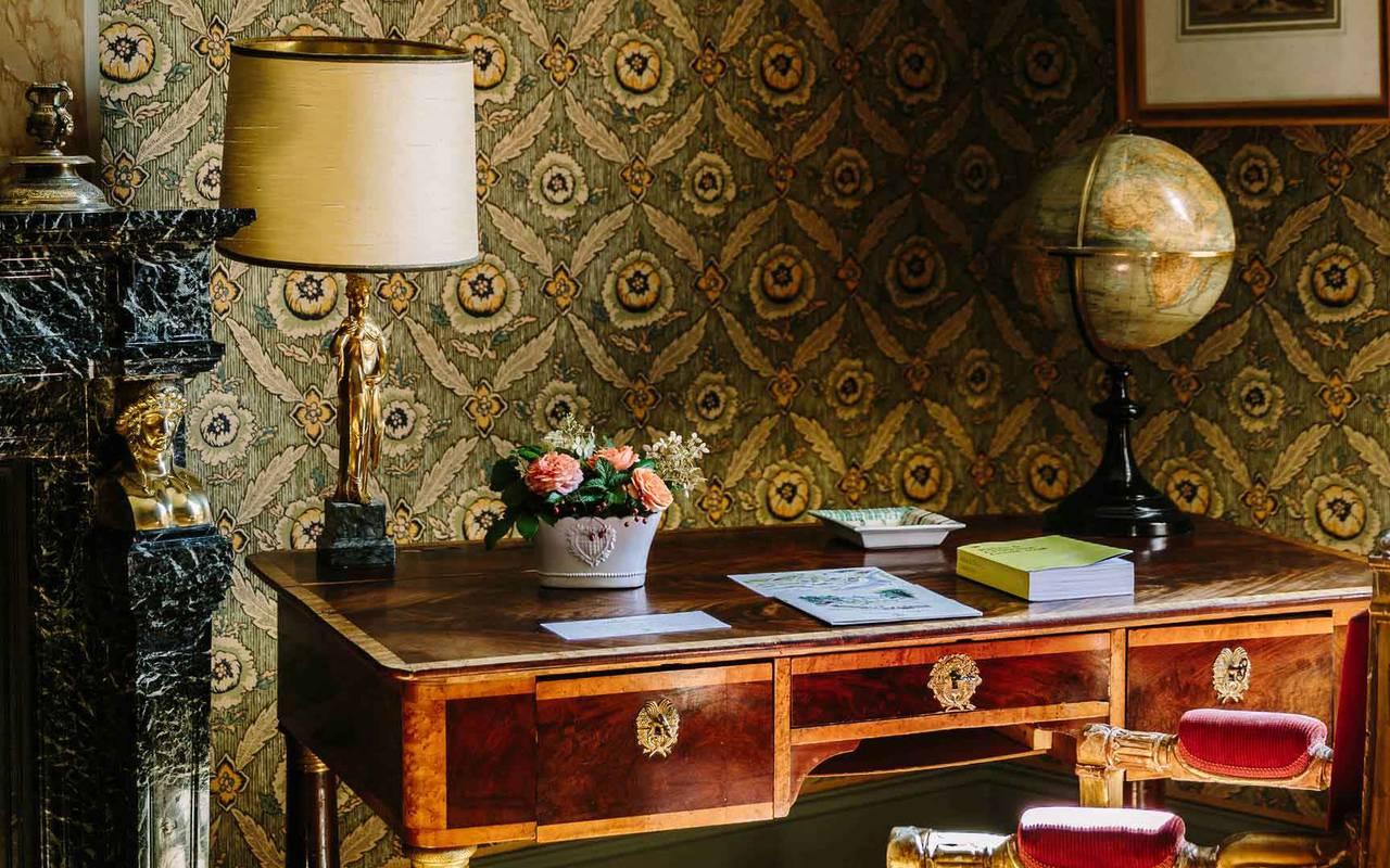 Historique Bureau de chambre hôtel Lacave