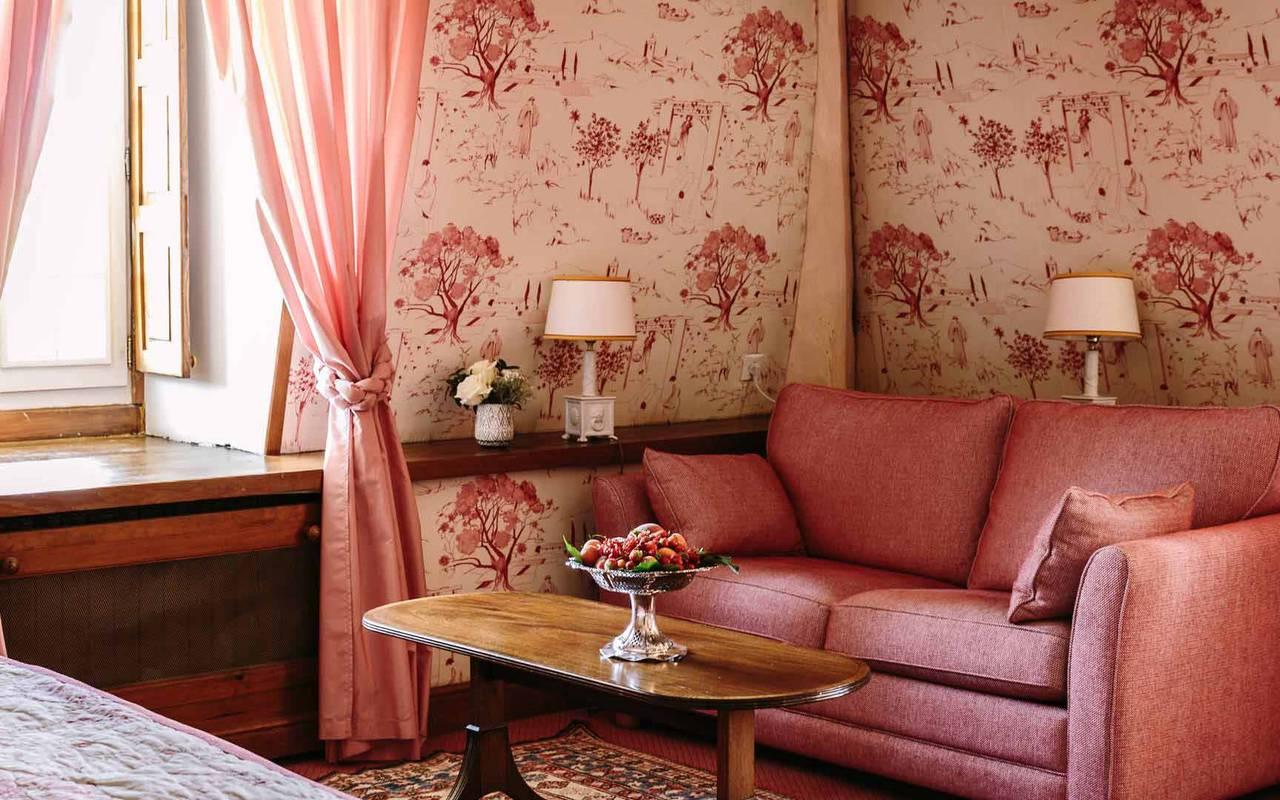 canapé dans chambre enfant modele - hotel 4 étoiles lot