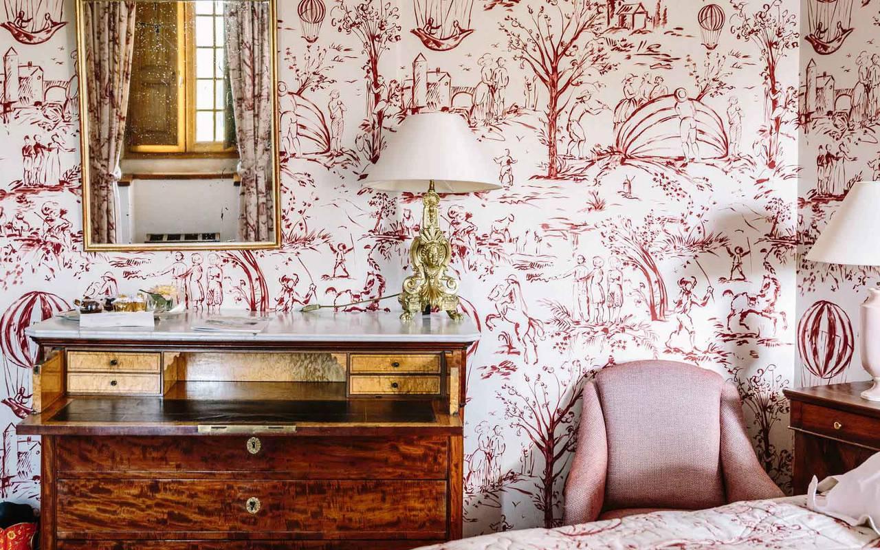 Vue chambre Turenne - hôtel 4 étoiles Dordogne