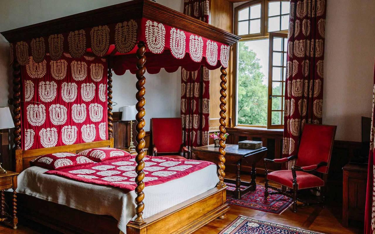 Vue Chambre gothique - Hôtel de luxe Dordogne