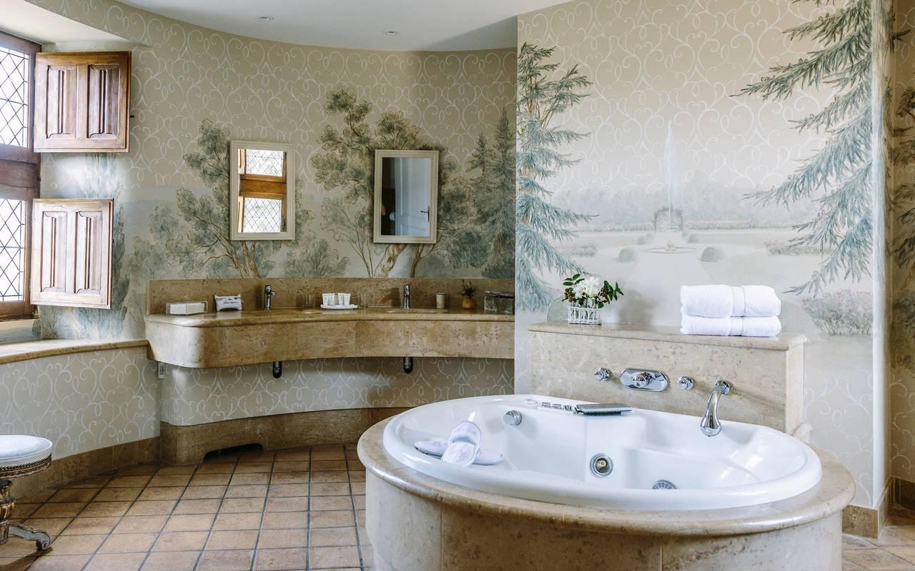 Salle de bain - hotel lacave