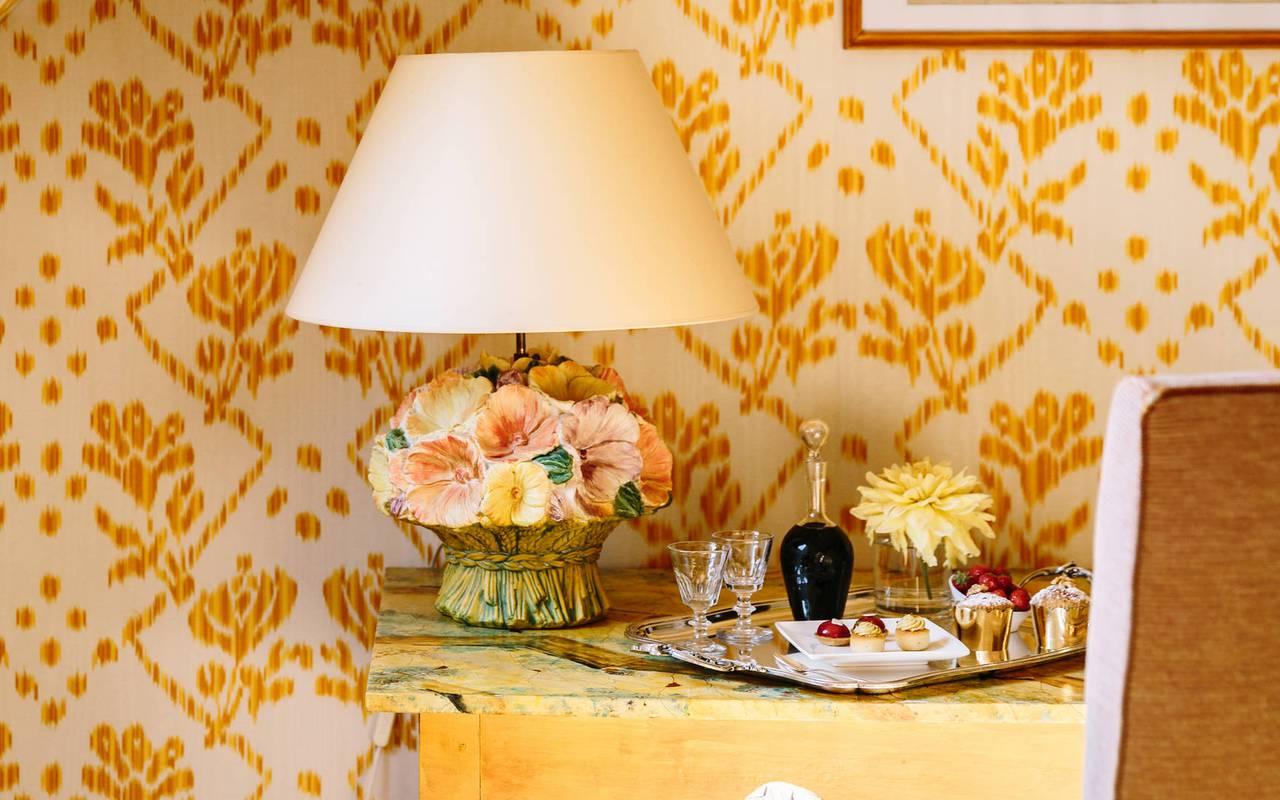 Plateau de room-service - Hotel de charme sarlat