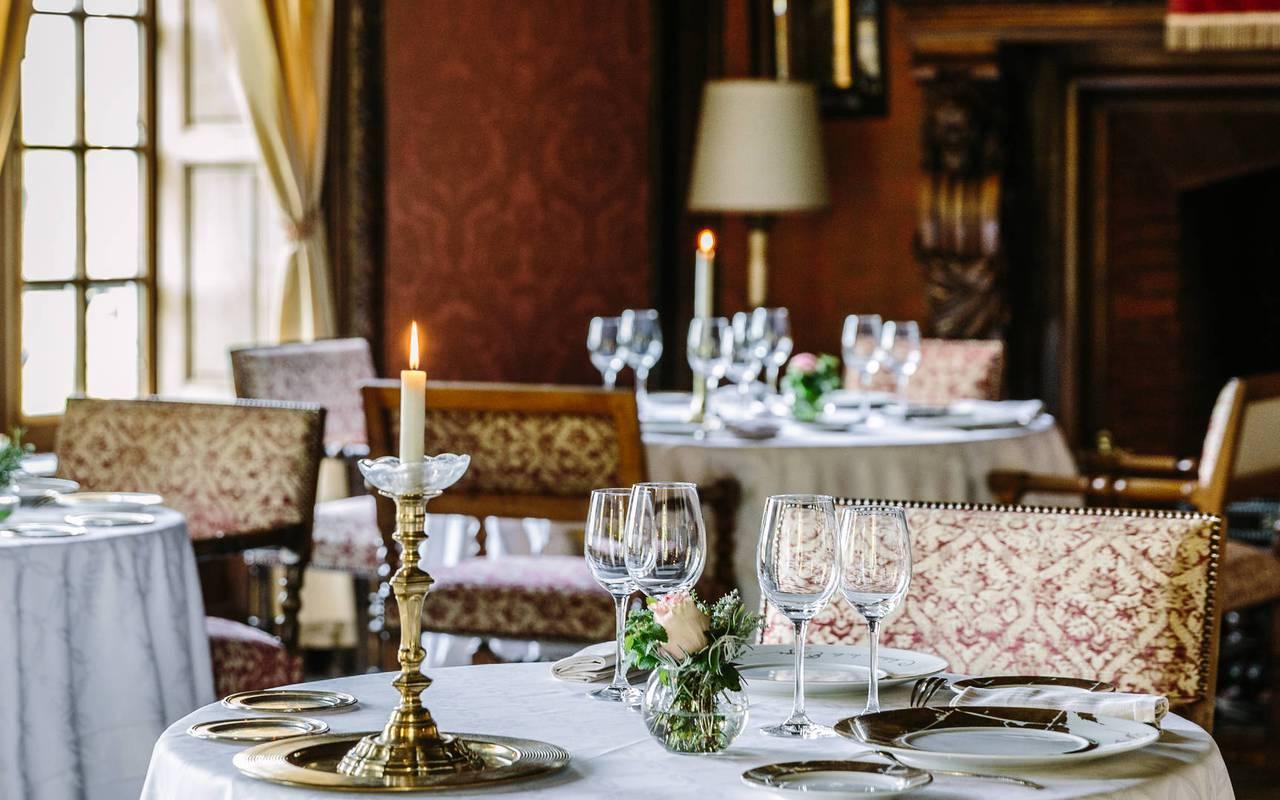Restaurant étoilé en Dordogne Château de la Treyne