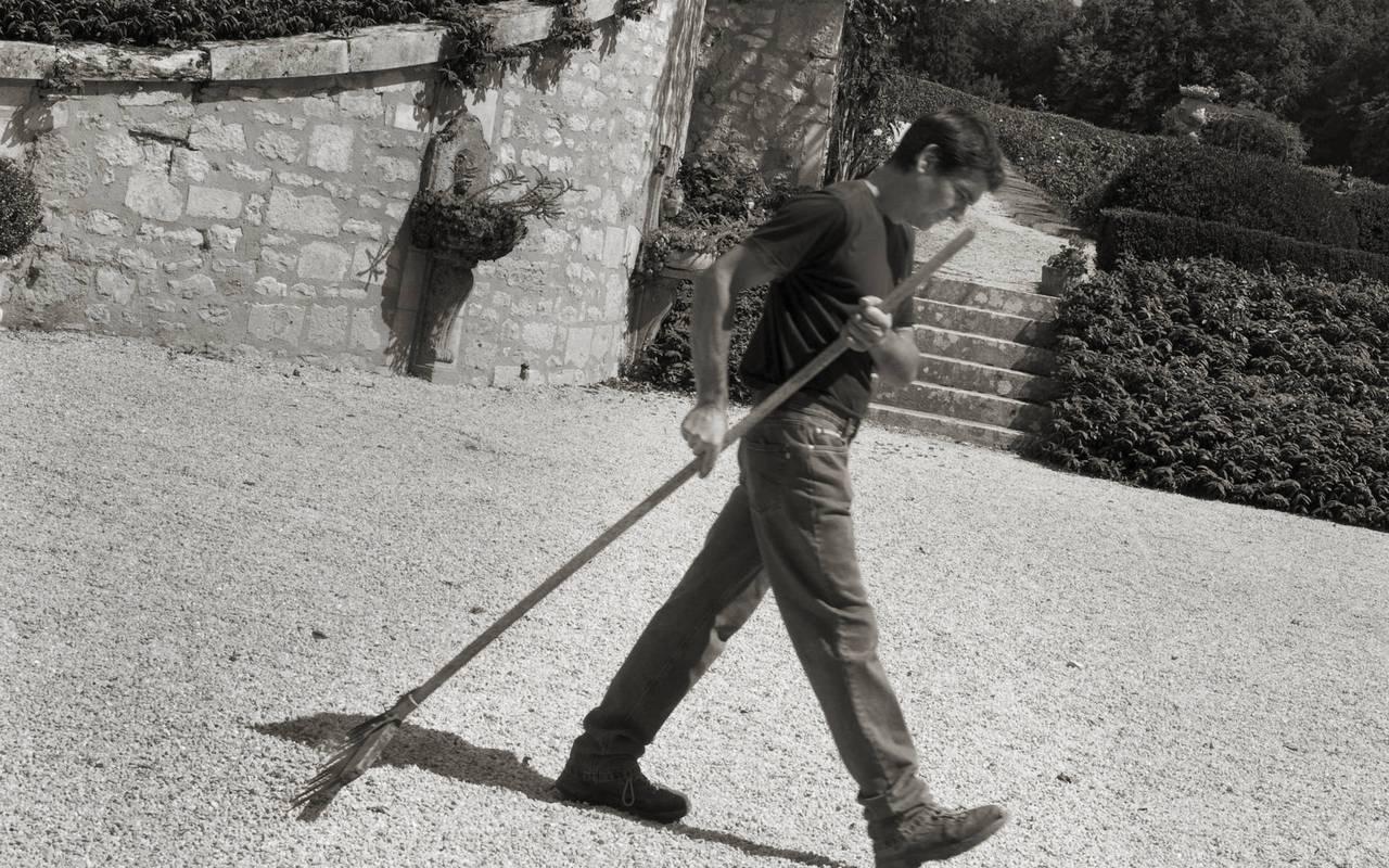 Equipe château hôtel Dordogne