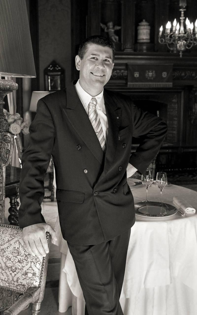 Maître d'hôtel château Sarlat